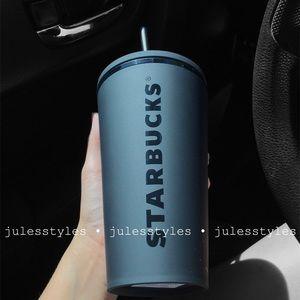 NEW Starbucks Matte Black Tumbler